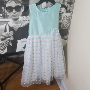 💎MARMELLATA POLKA DOT MINT GREEN TUTU DRESS